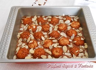 Torta al cioccolato con wafer e amaretti al caffe Blog Profumi Sapori & Fantasia