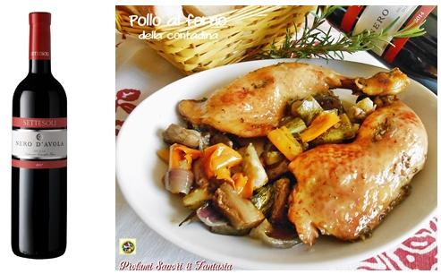 Pollo al forno della contadina Blog Profumi Sapori & Fantasia