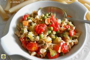 Sugo con petto di pollo e verdure ricetta