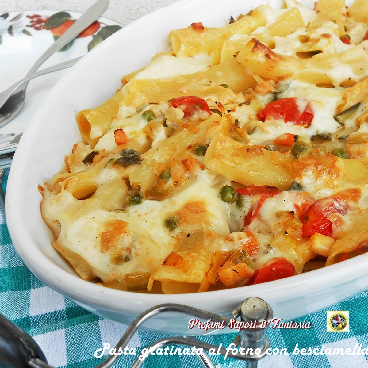 Ricette per pasta gratinata