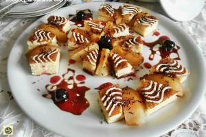 Dessert di autunno alle pere ricetta golosa