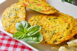 Frittatine con verdure alla campagnola ricetta