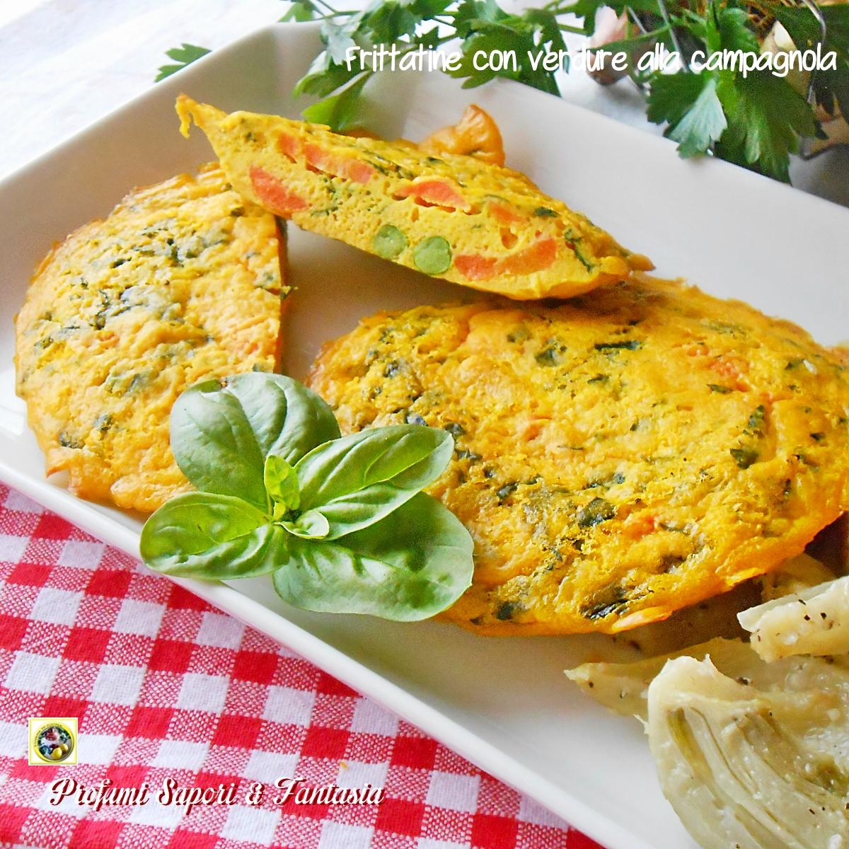 Frittatine con verdure alla campagnola Blog Profumi Sapori & Fantasia