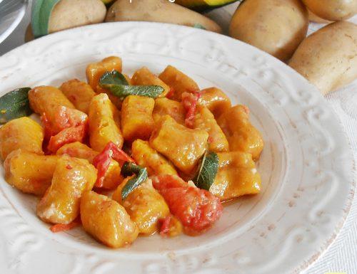 Gnocchi di zucca e patate gustosi ricetta