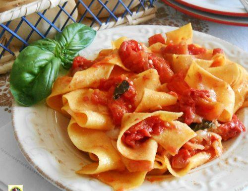 Lasagnette alla napoletana ricetta veloce