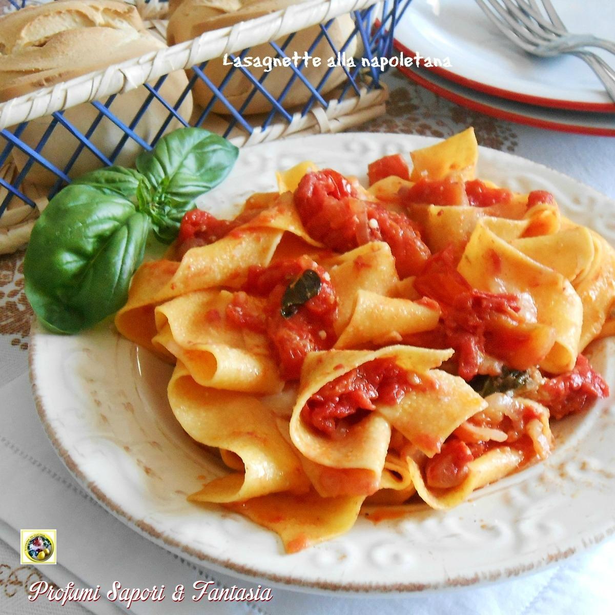 Lasagnette alla napoletana