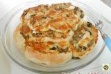 Pasticcio di pollo e funghi in pasta sfoglia