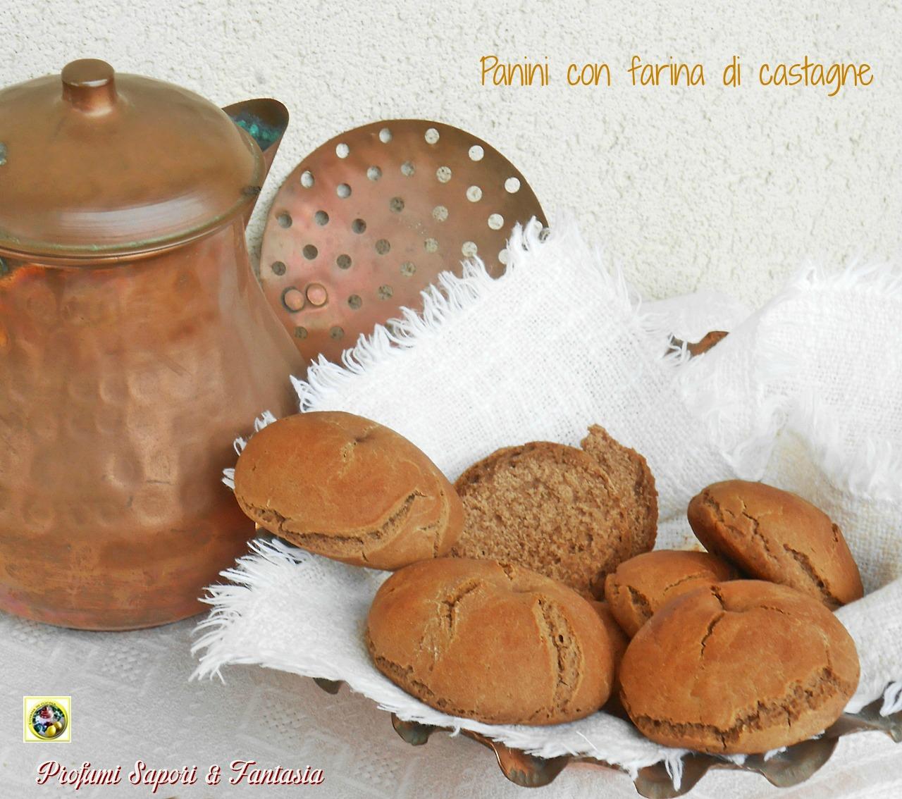 Panini con farina di castagne Blog Profumi Sapori & Fantasia