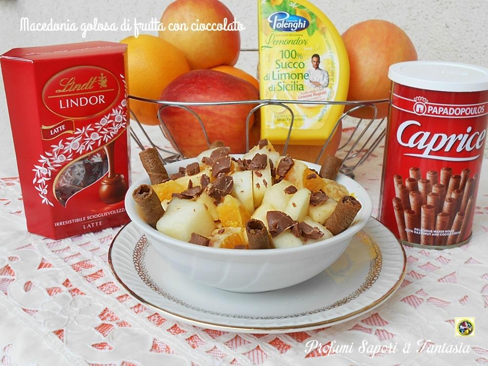 Macedonia golosa di frutta