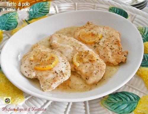 Petto di pollo in salsa di arance ricetta