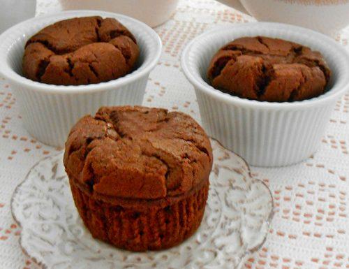 Muffin alla panna cacao e cioccolato ricetta