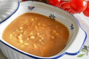 Crema di lenticchie con pastina