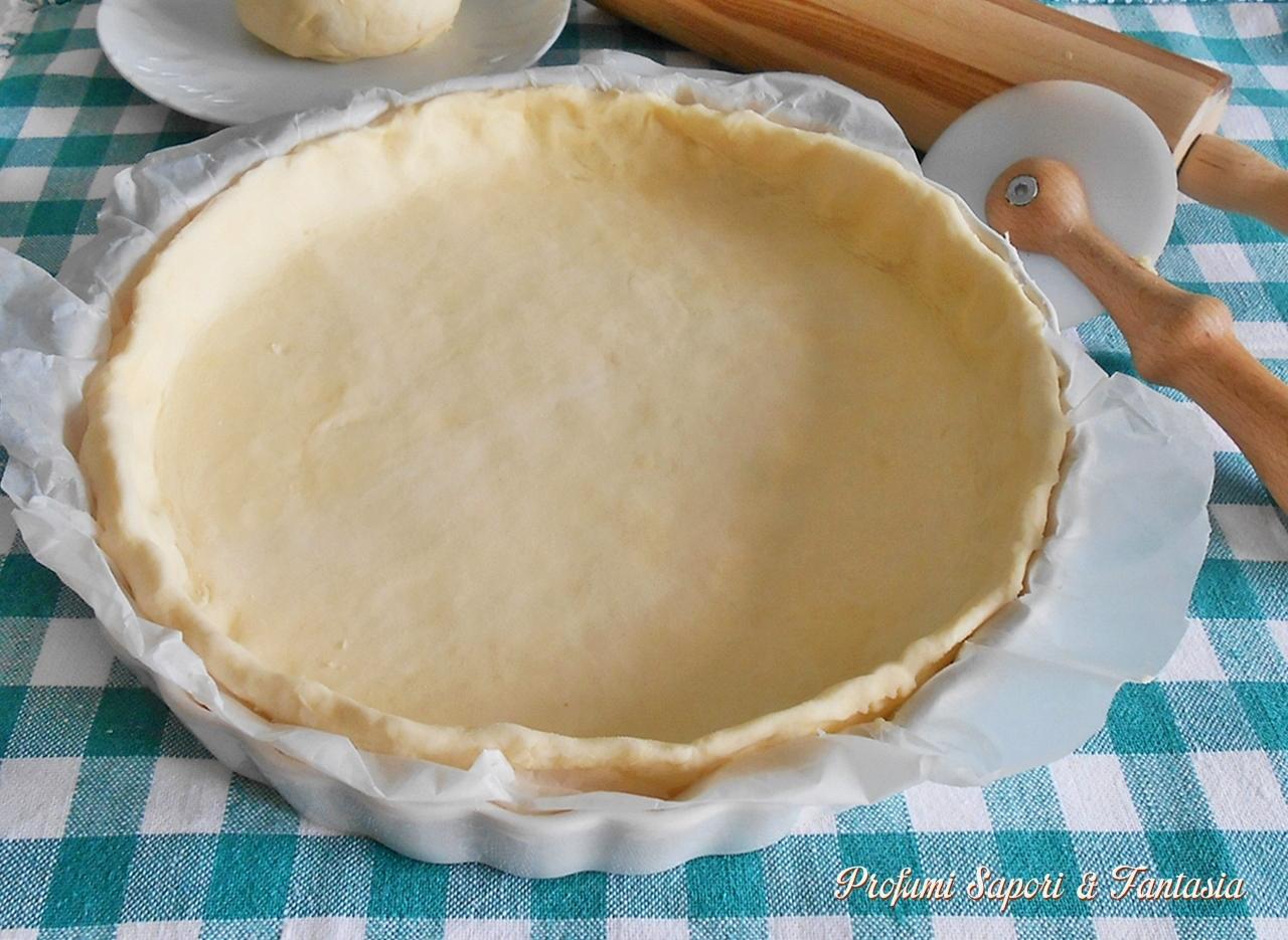 Pasta sfoglia veloce con ricotta ricetta base