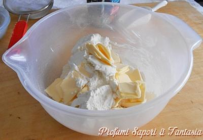 Pasta sfoglia veloce con ricotta
