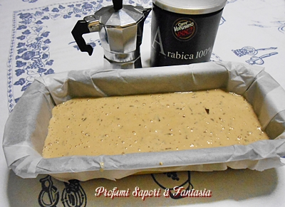 Plumcake al latte caffè senza burro ne uova