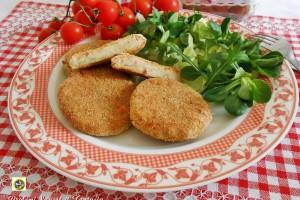 Cotolette di patate farcite al forno