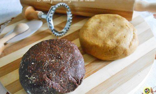 Pasta frolla integrale al cacao