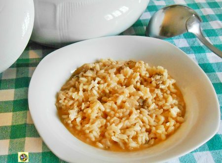 Risotto al pomodoro con salsiccia