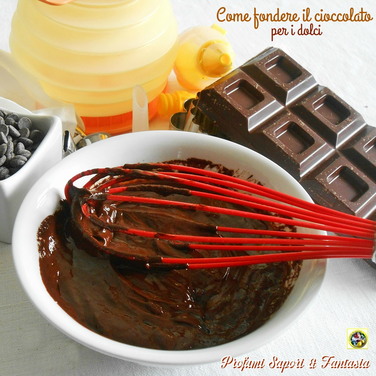 Come fondere il cioccolato