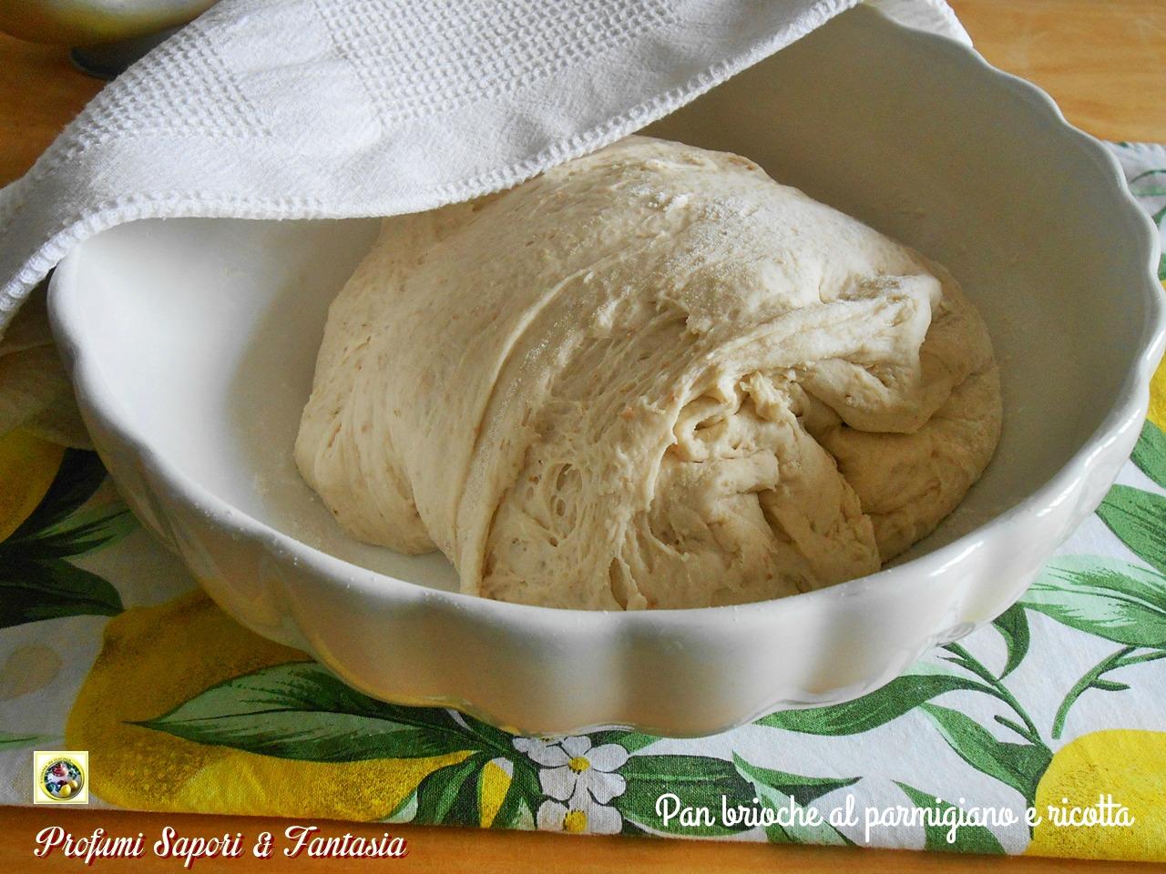 Pan brioche al parmigiano e ricotta