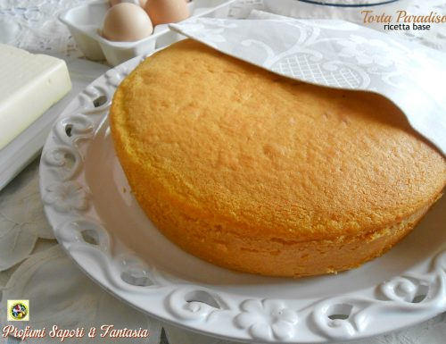 Torta Paradiso ricetta base