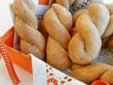 Treccine di pane semintegrale al latte