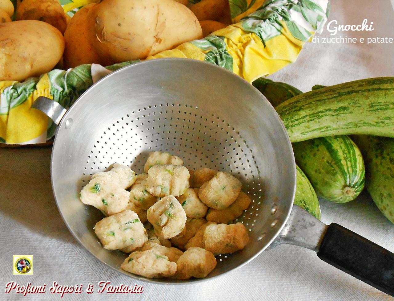 Gnocchi di zucchine e patate