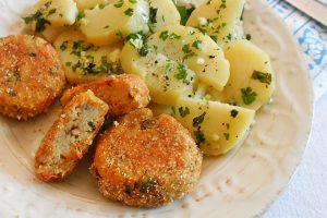 Polpette vegetariane al forno