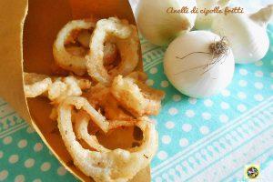 Anelli di cipolle fritti
