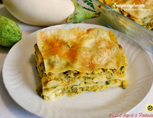 Lasagne vegetariane con crema di zucchine