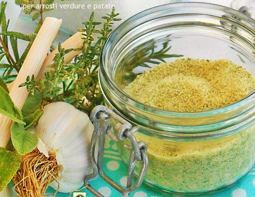 Sale aromatico per arrosti verdure e patate