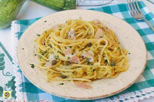 Spaghetti in crema di zucchine