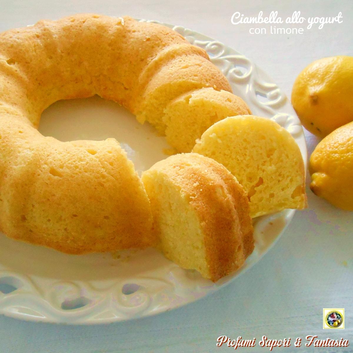 Ciambella allo yogurt con limone senza zucchero e senza burro for Cucinare x diabetici