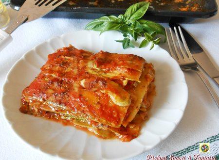 Zucchine alla pizzaiola in forno