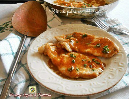 Petto di pollo al Marsala
