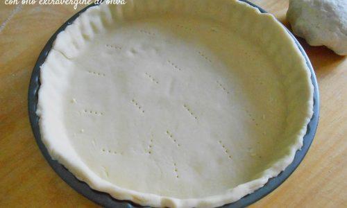 Pasta brisée con olio di oliva