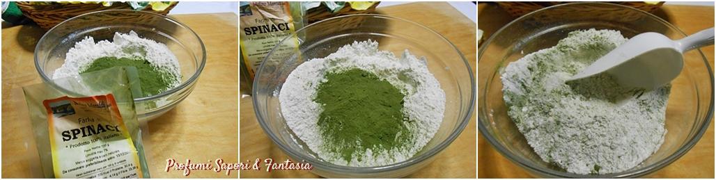 Gnocchi verdi di patate e spinaci