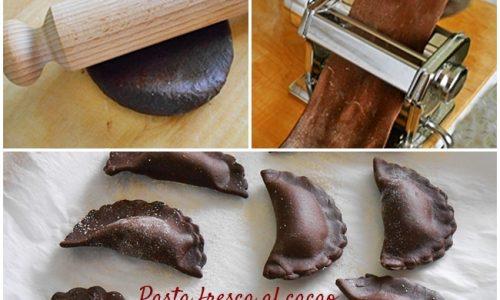 Pasta fresca al cacao