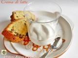 Crema di latte ricetta col Bimby e tradizionale