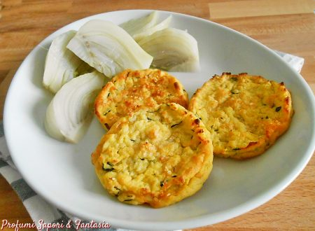 Medaglioni di patate e zucchine al forno