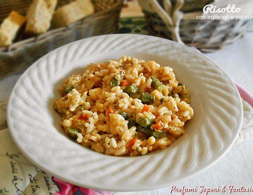 Risotto con asparagi e patate