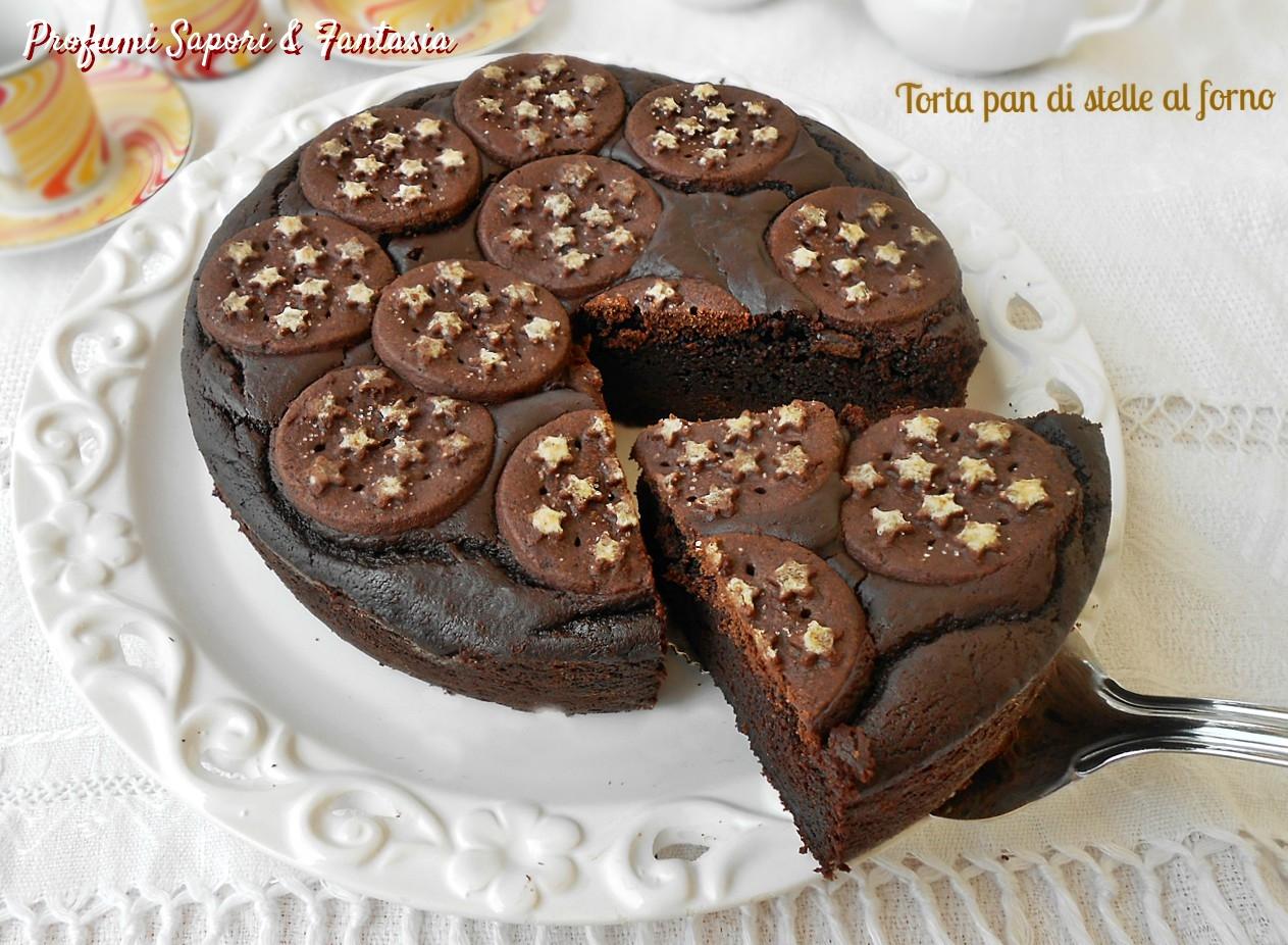 Torta pan di stelle al forno3