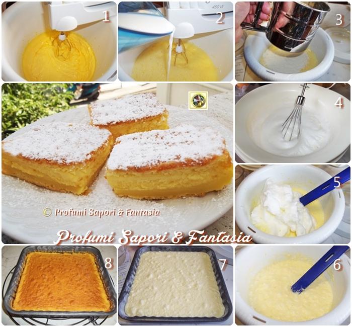 Torta morbida e cremosa ricetta golosa - Profumi Sapori & Fantasia