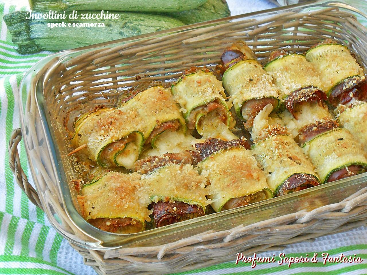 Involtini di zucchine speck e scamorza 3