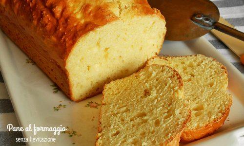 Pane al formaggio senza lievitazione