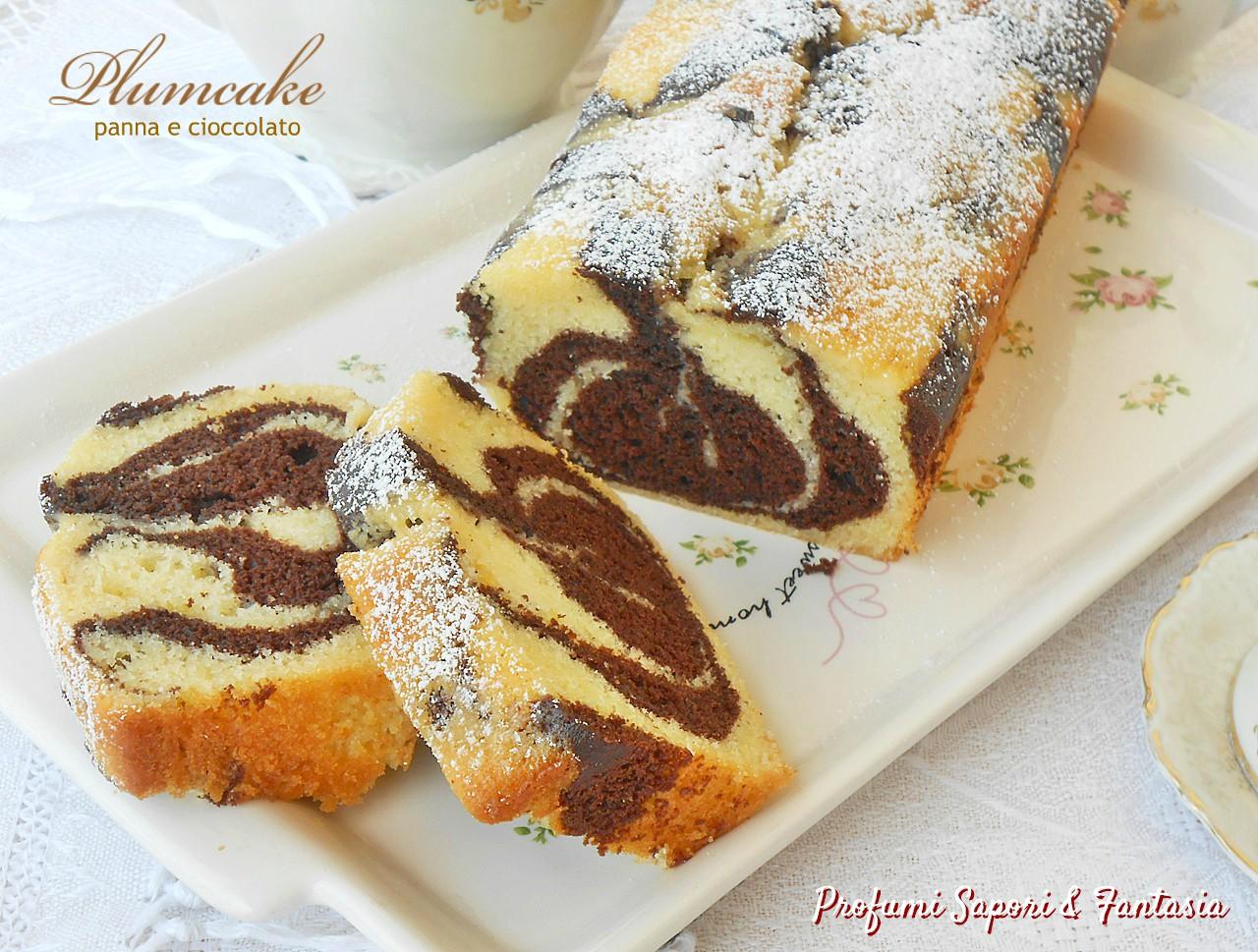Plumcake panna e cioccolato nuova