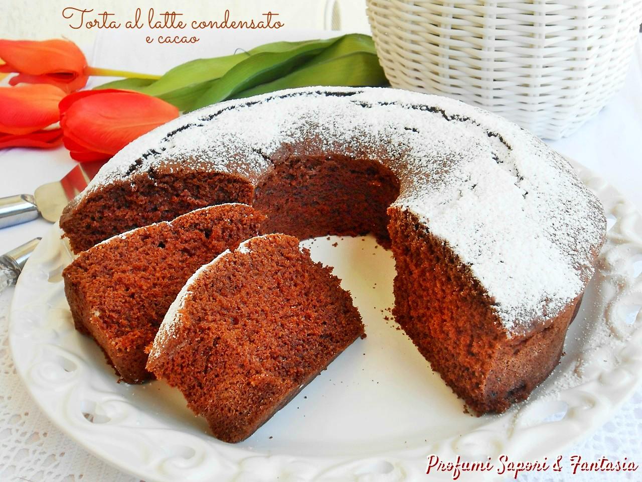 Torta al latte condensato e cacao 1