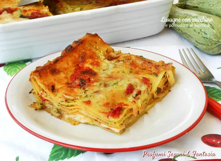 lasagne con zucchine e pomodoro al basilico2
