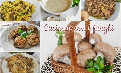 Cucinare con i funghi ricette