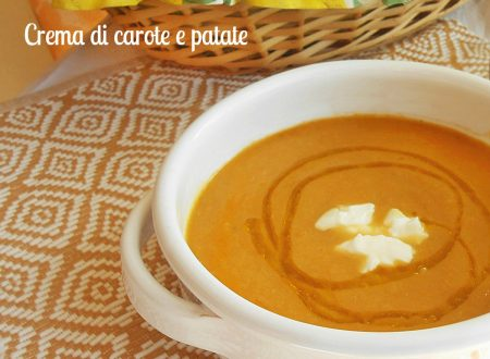 Crema di carote e patate